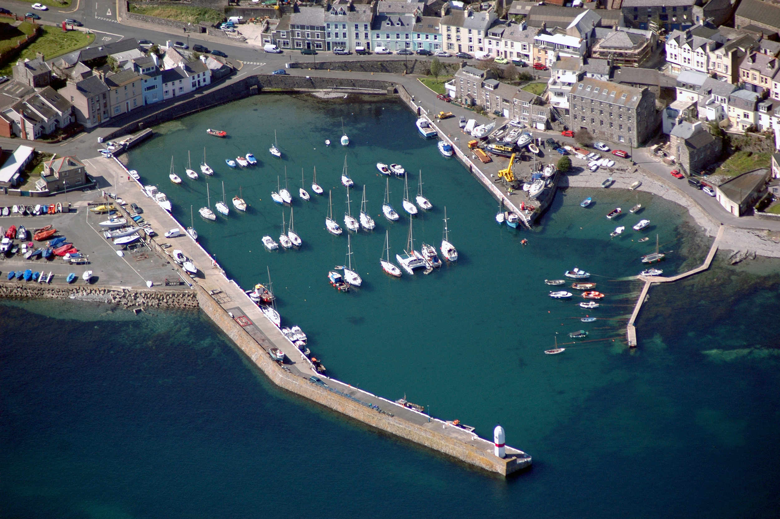 Port st Mary inner harbour