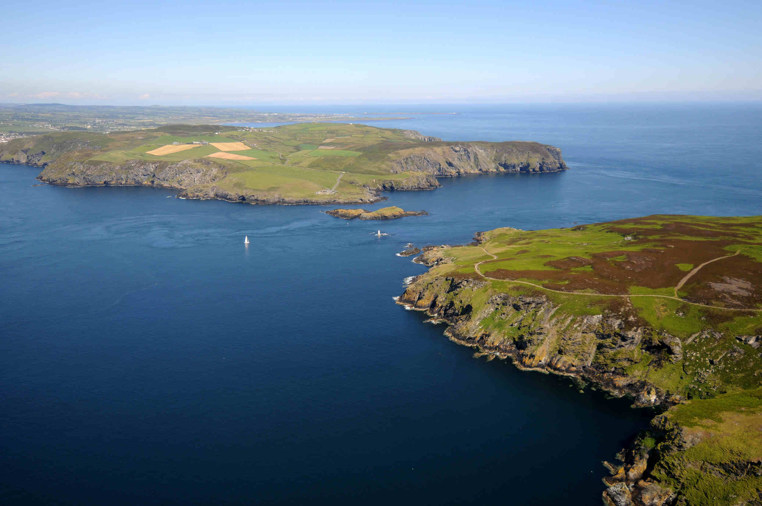 The Sound, Kitterland and the Calf of Man