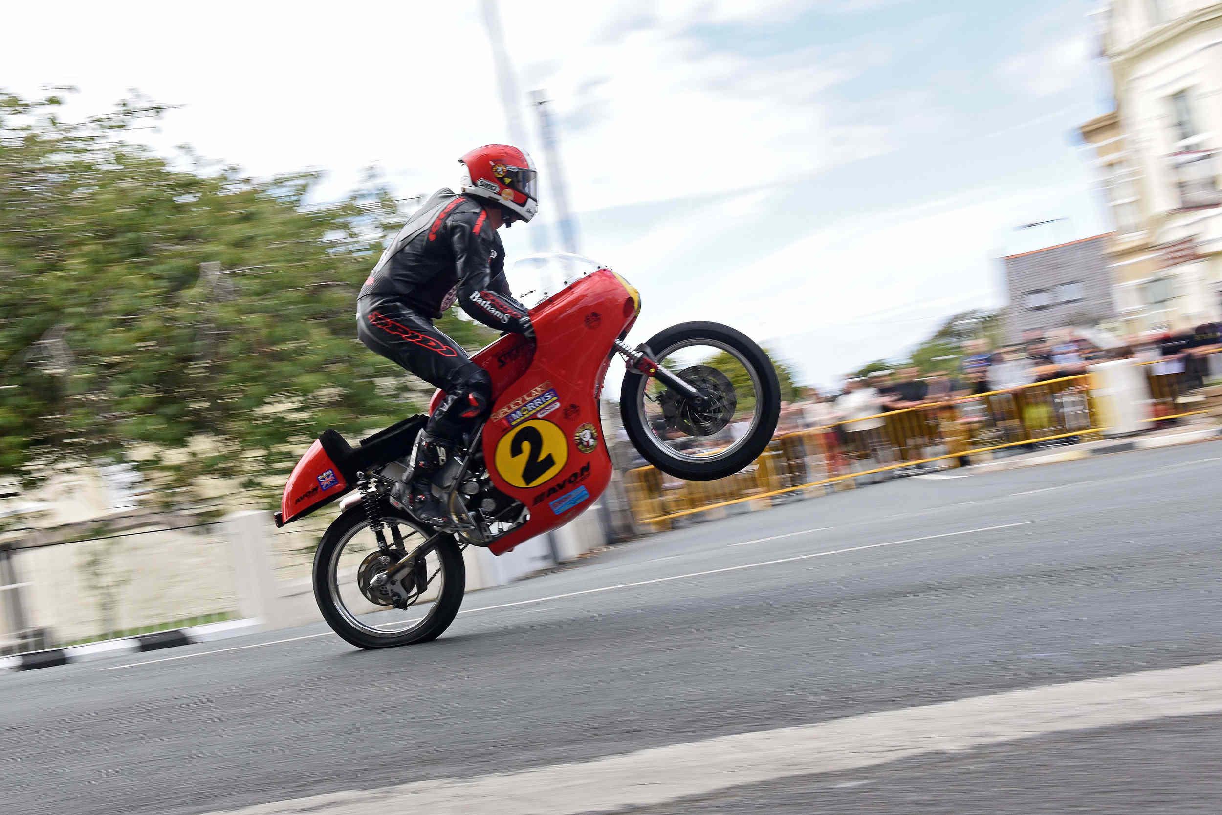 Classic TT 2015 - Michael Rutter