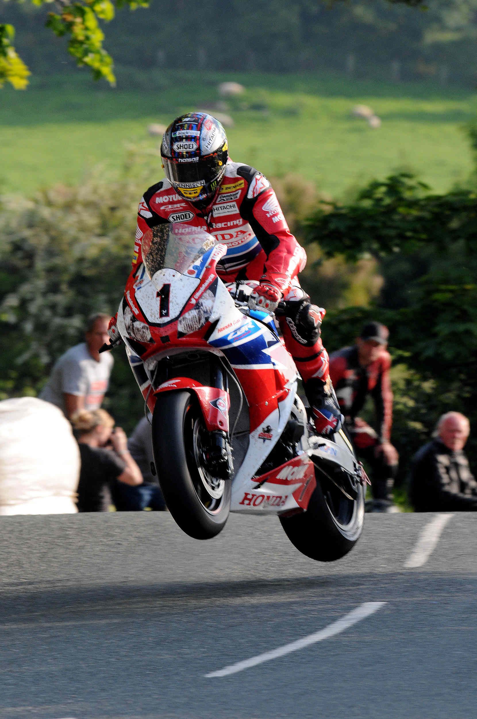 TT 2014 qualifying - John McGuinness