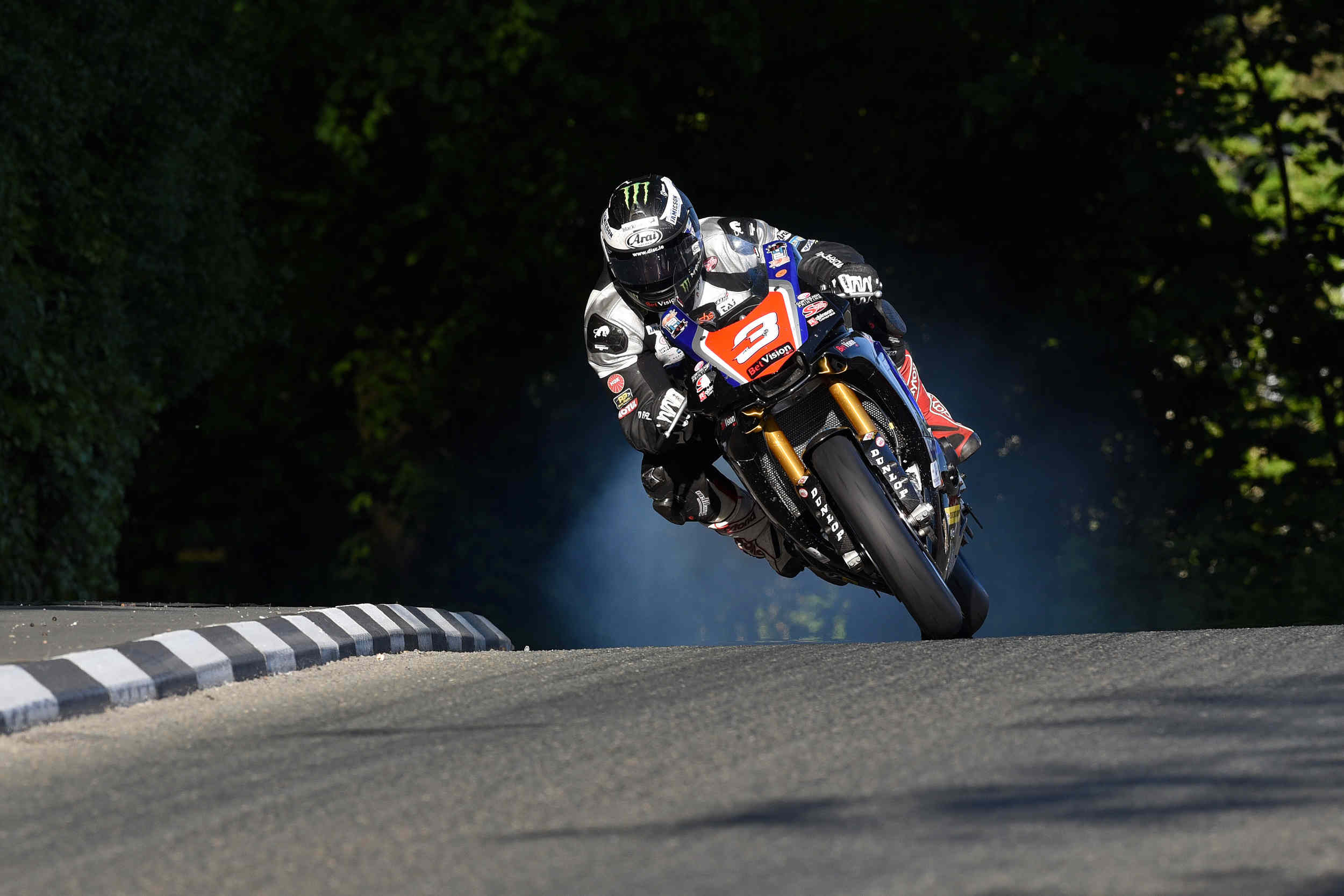 TT 2015 qualifying - Michael Dunlop