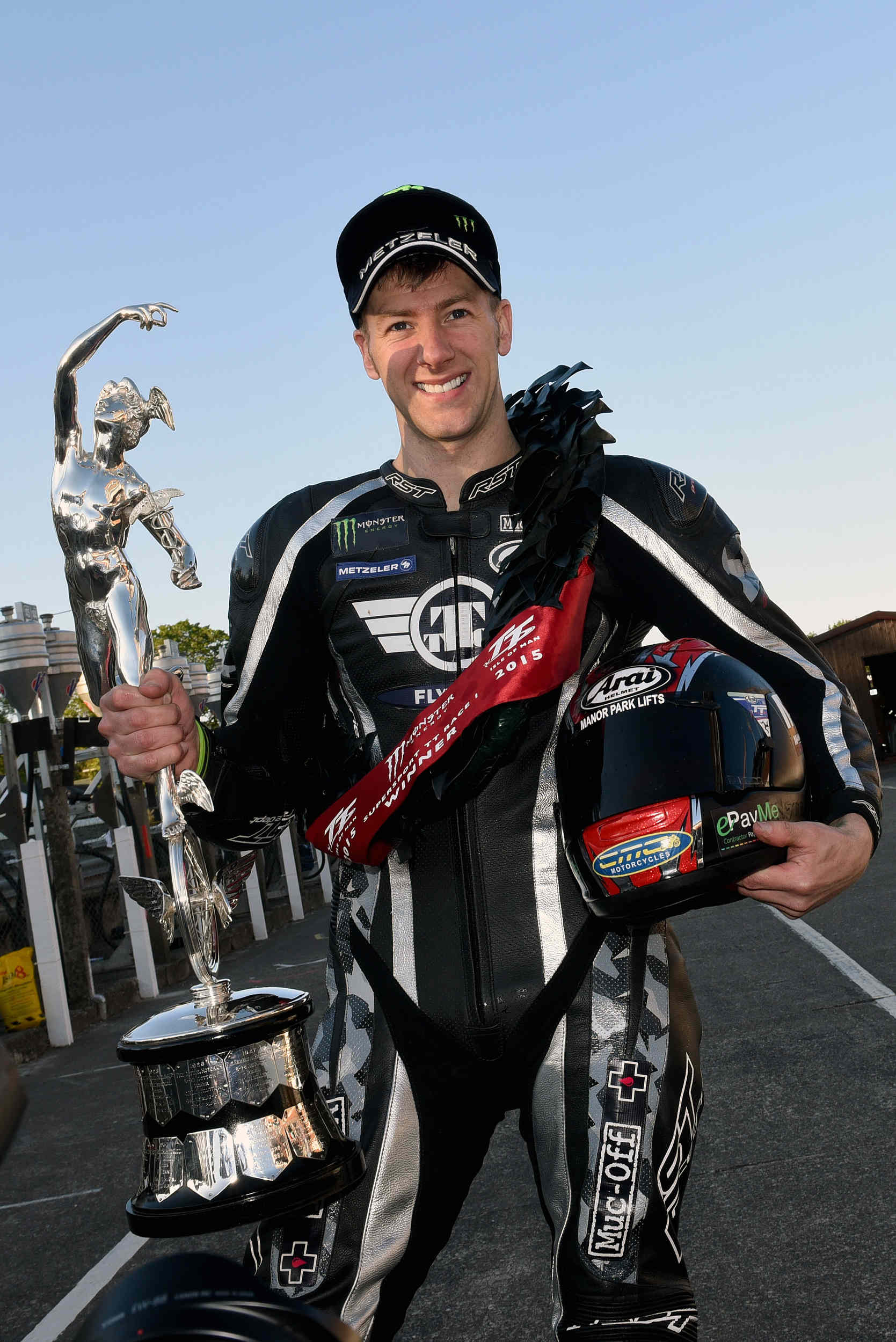 Superbike TT 2015 winner Ian Hutchinson