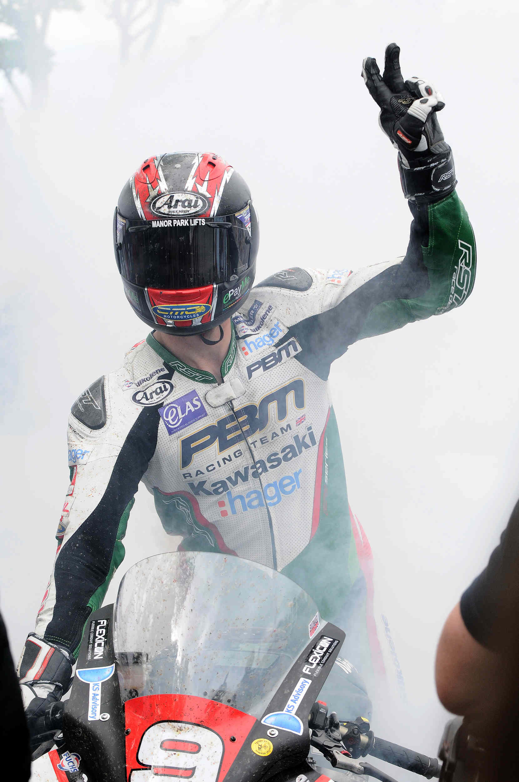 Ian Hutchinson sensationally wins the 2015 Superstock TT, his second win of the week
