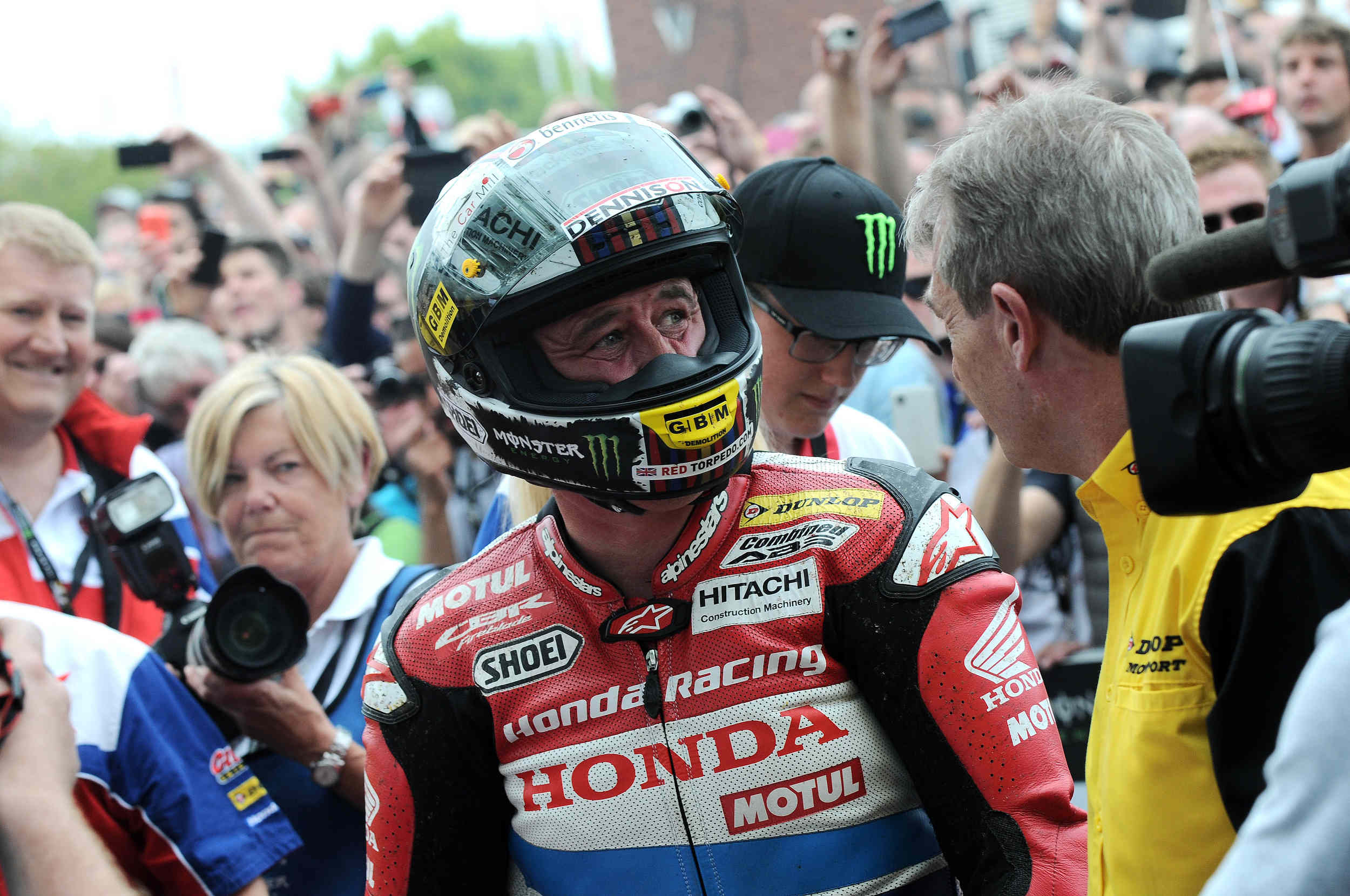 Senior TT 2015 winner John McGuinness