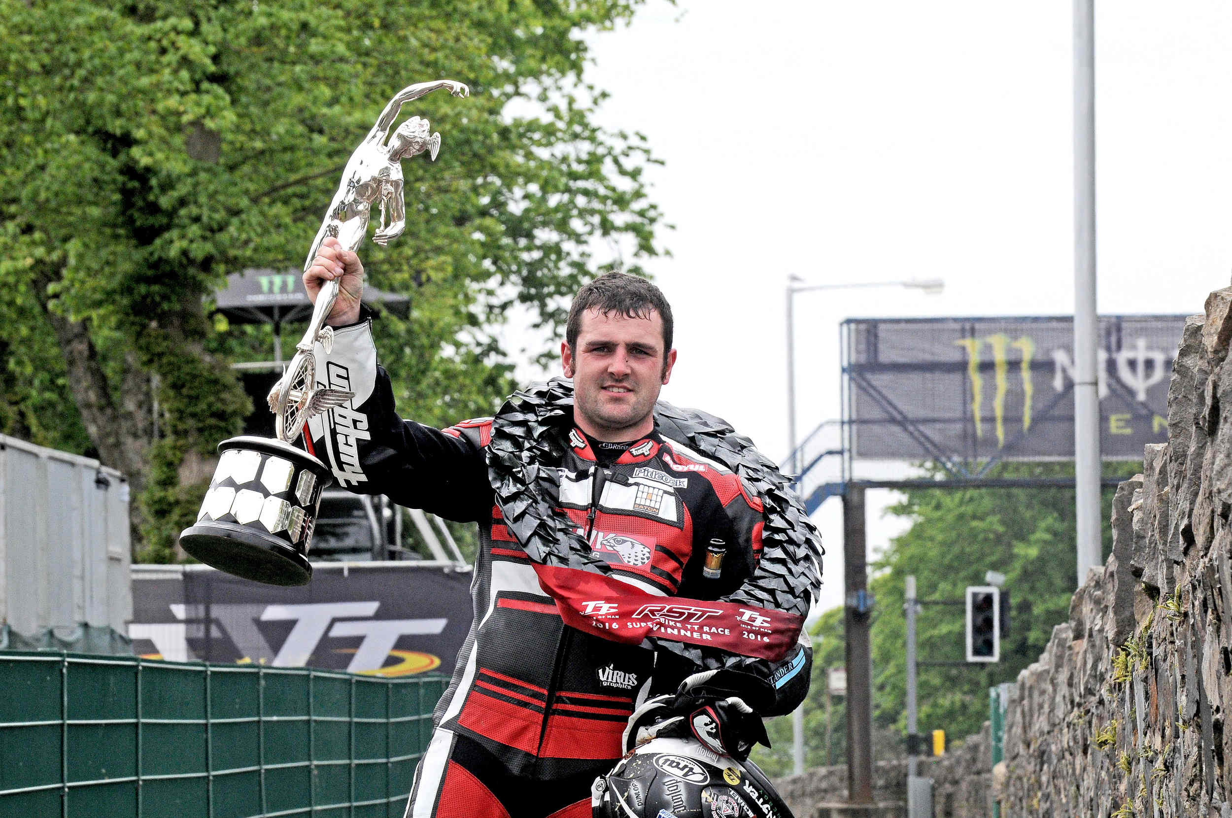 Superbike TT 2016 winner Michael Dunlop