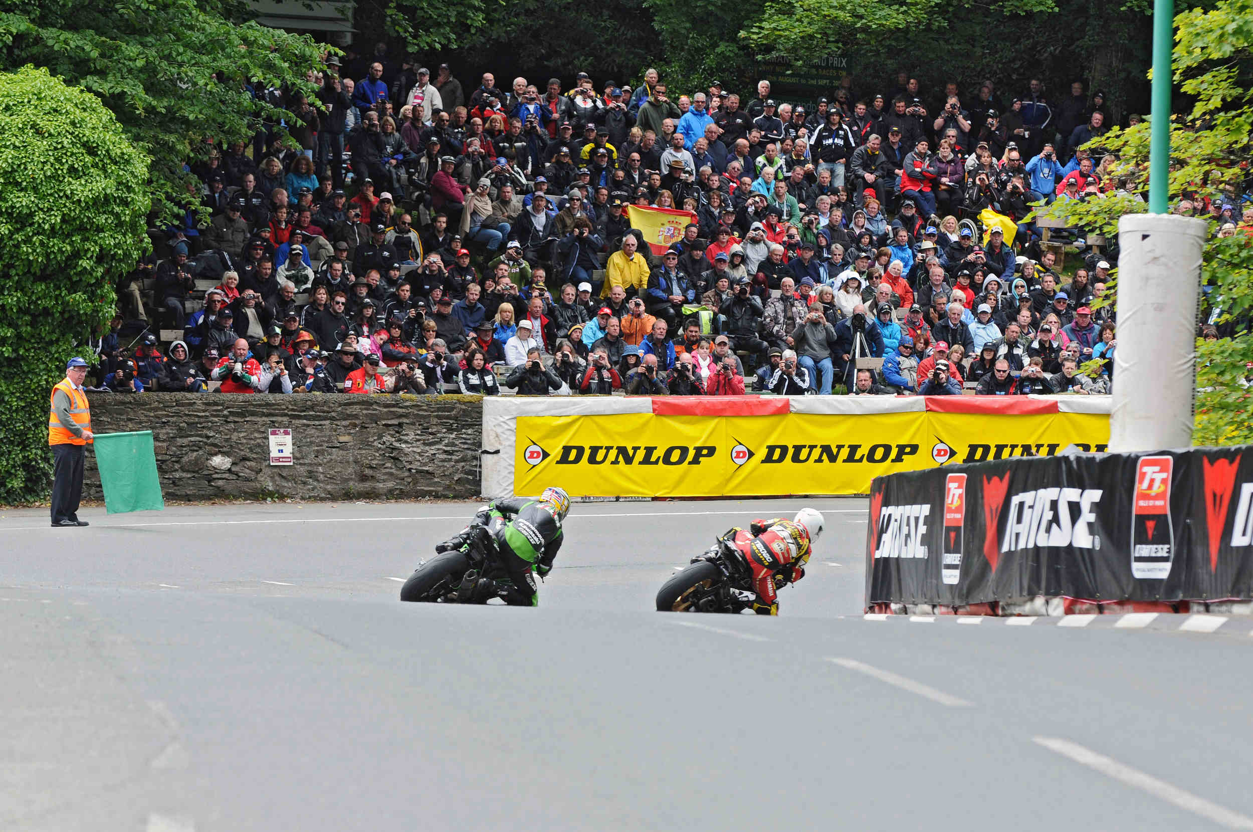 Supersport Race 2 at Braddan Bridge, TT 2011