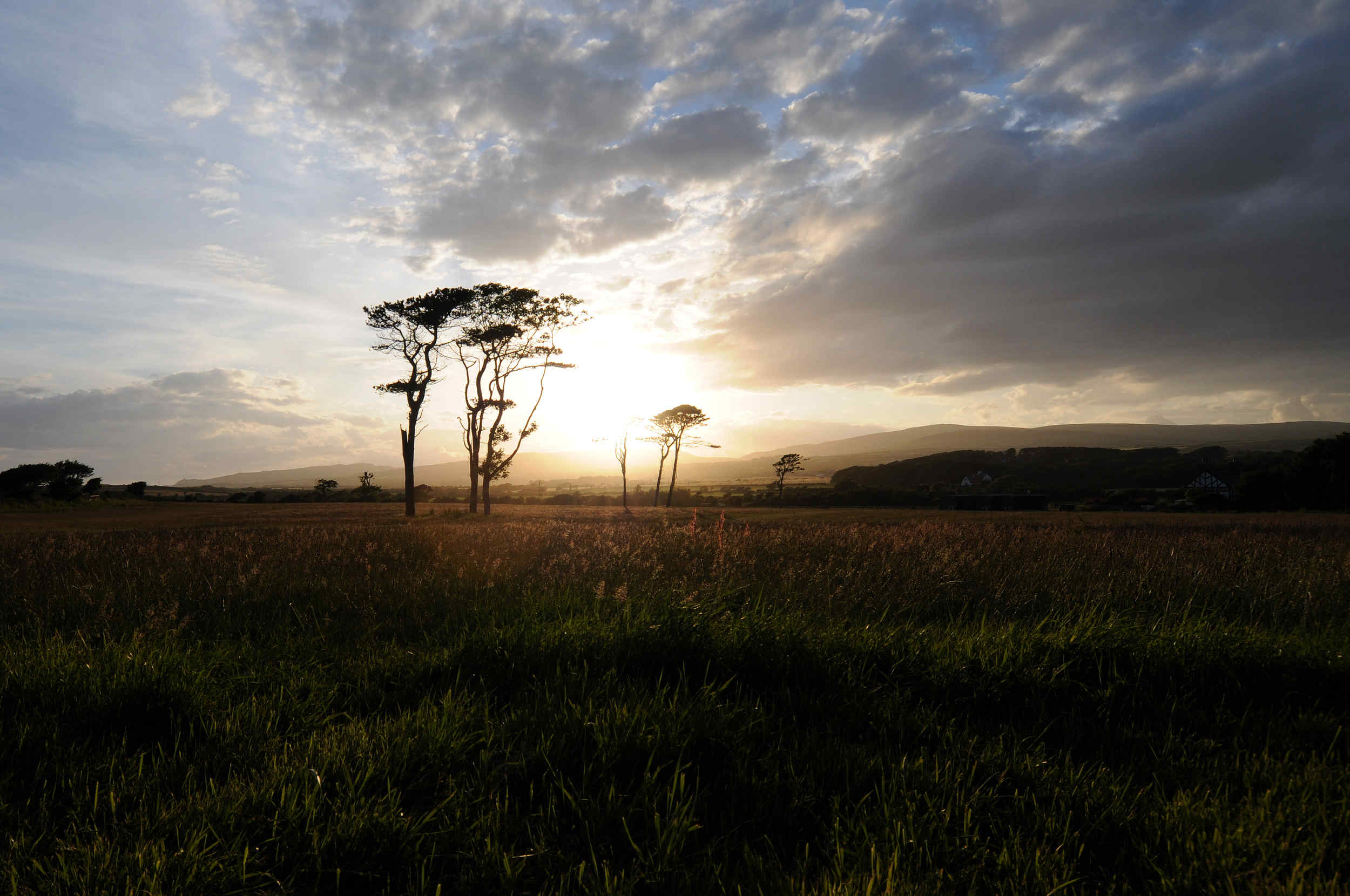 Sunset at Great Meadow, Castletown