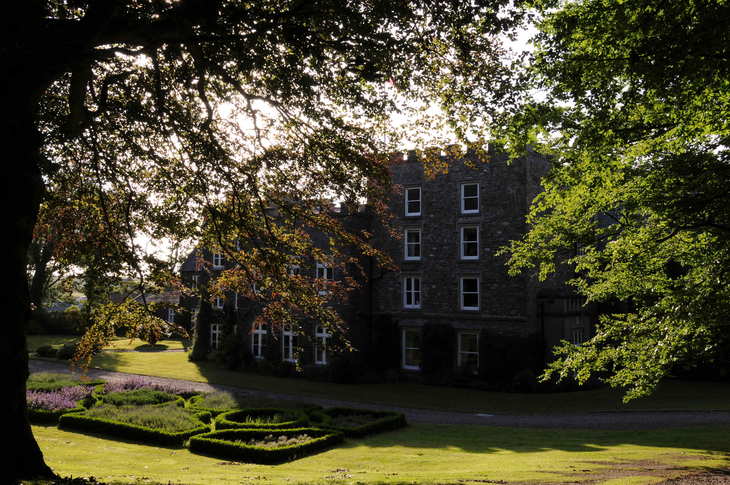 Bishopscourt, a seventeenth-century mansion house and chapel near Kirk Michael.