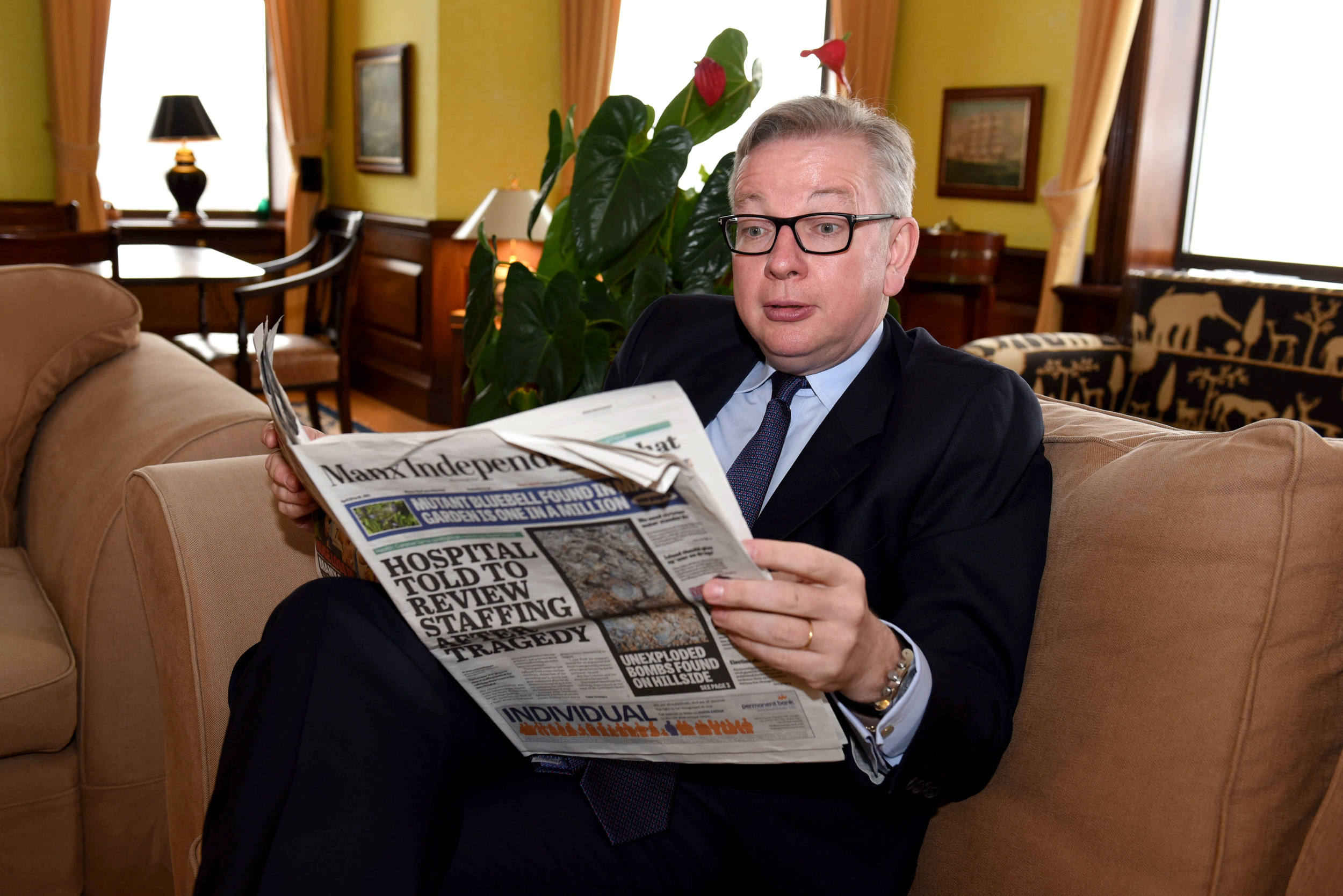 Interview with Michael Gove MP