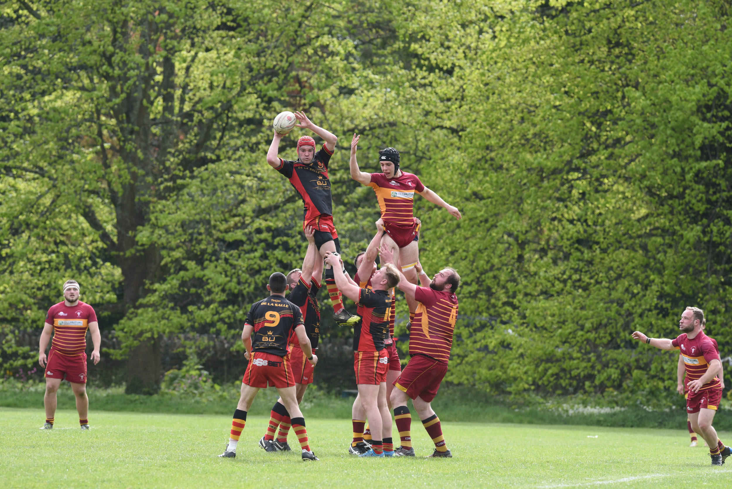 Douglas Rugby Club beats De La Salle in a promotion play-off