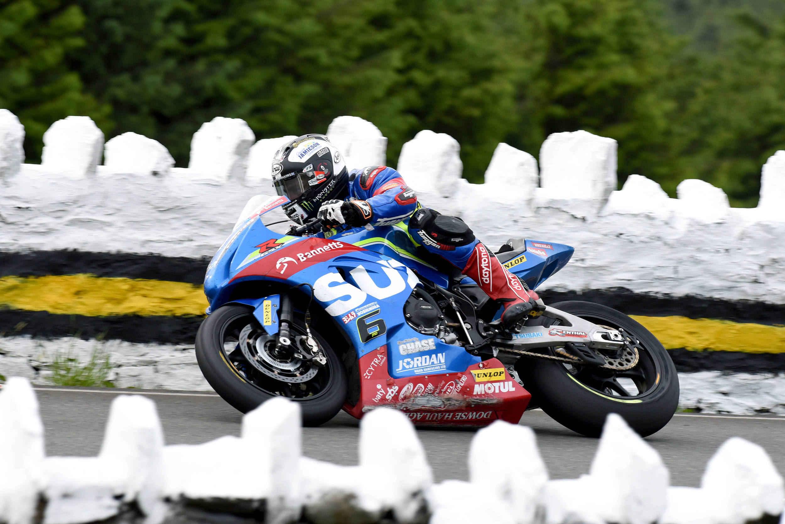 Senior TT 2017 winner Michael Dunlop