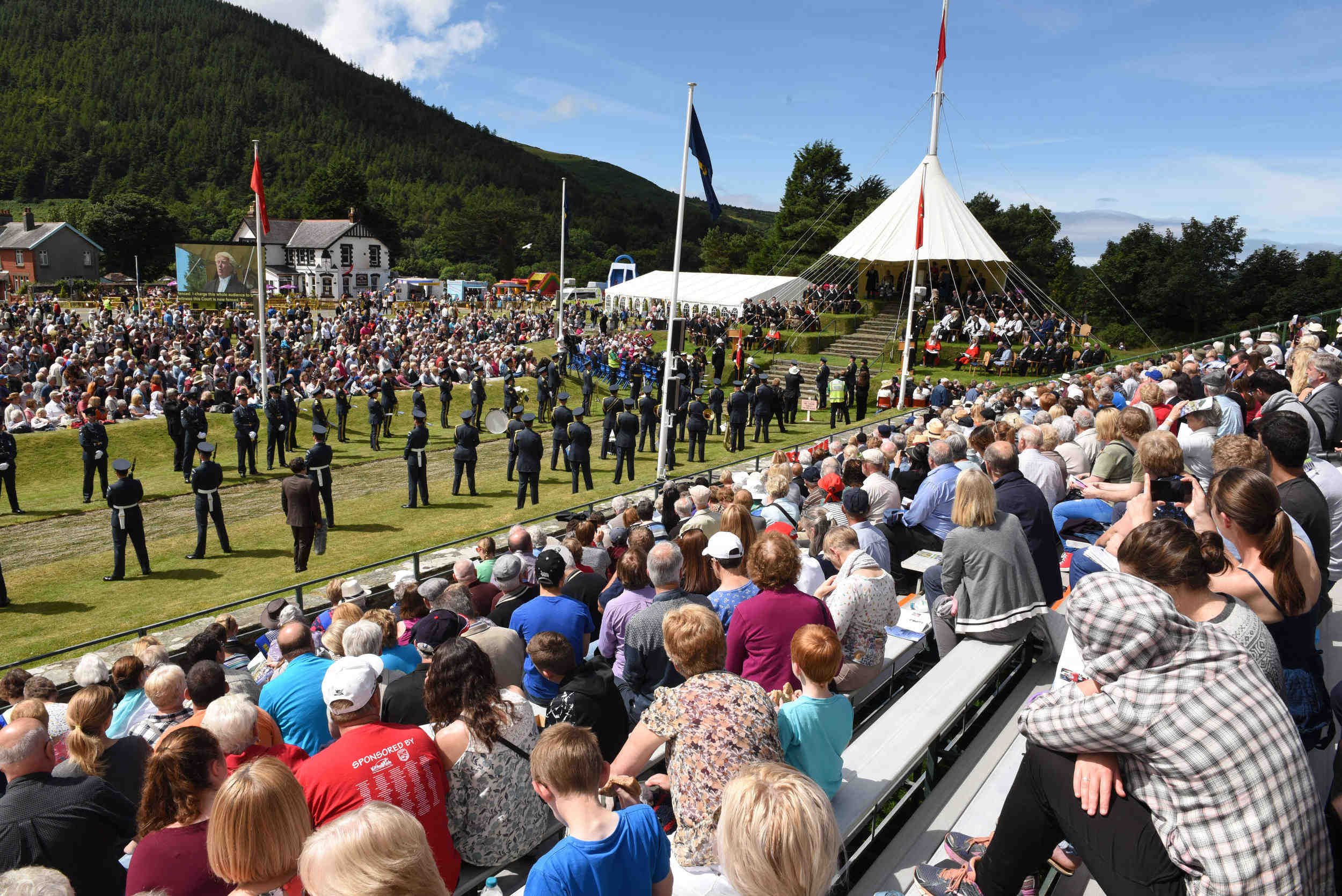 The 2017 Tynwald day ceremonies at St John's