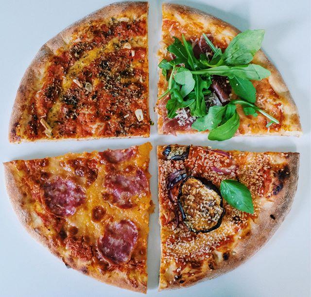 Die perfekte Pizza, wenn man sich mal nicht entscheiden kann!🍕 Welches Pizzastück würdet ihr wählen? • • • • Einfach online bestellen 🍕Shop.missionpizza.de🍕 oder ruf uns an 040/85407606