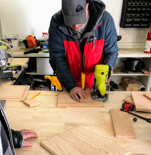 Woodworking studio - in Utica Michigan