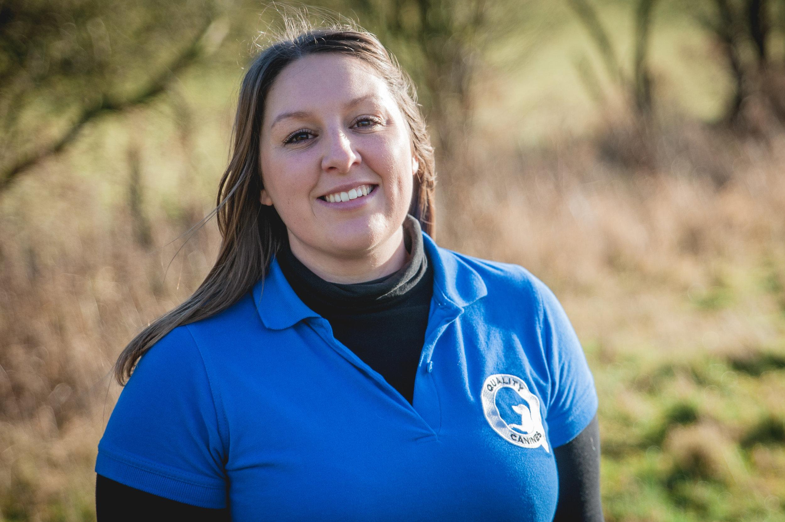 Natalie - Trainer and Behaviour Consultant.