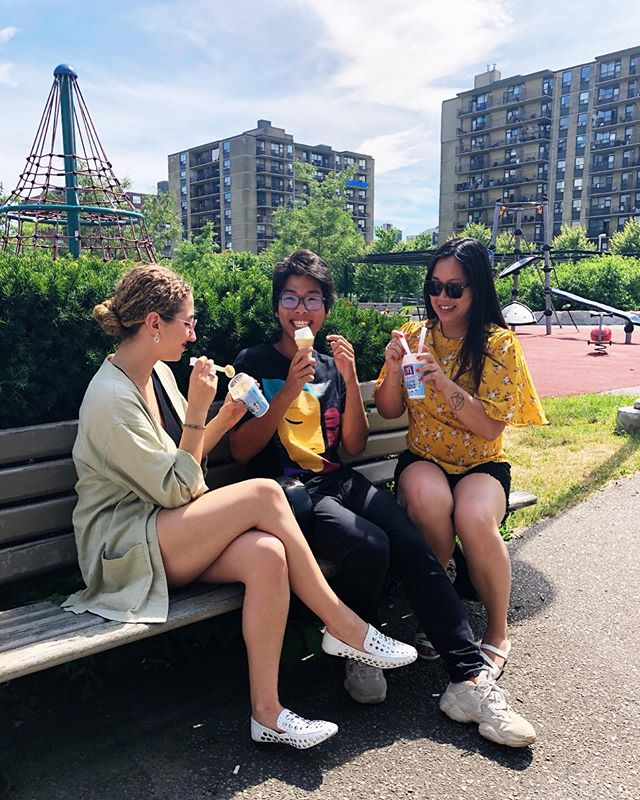 Our moms think we're cool. The ZED team grabbed some🍦on this hot summer day! . . . . . #weareZED #GenZ #generationz #socialmediamarketing #social #socialmediatips #socialmarketing #socialmediaguru #genzmarketing #digitalmarketing #brandconsulting #businessconsulting #icecream #teenagerposts #teenposts #canadianmarketing #youngentrepreneur #youngentrepreneurs #startupbusiness #entrepreneursofinstagram #contentmarketing #socialmediamanager #dayinthelife #ootdtoronto #communityovercompetition #helpothers #entrepreneurslife #icecreamlove #digitalnomad