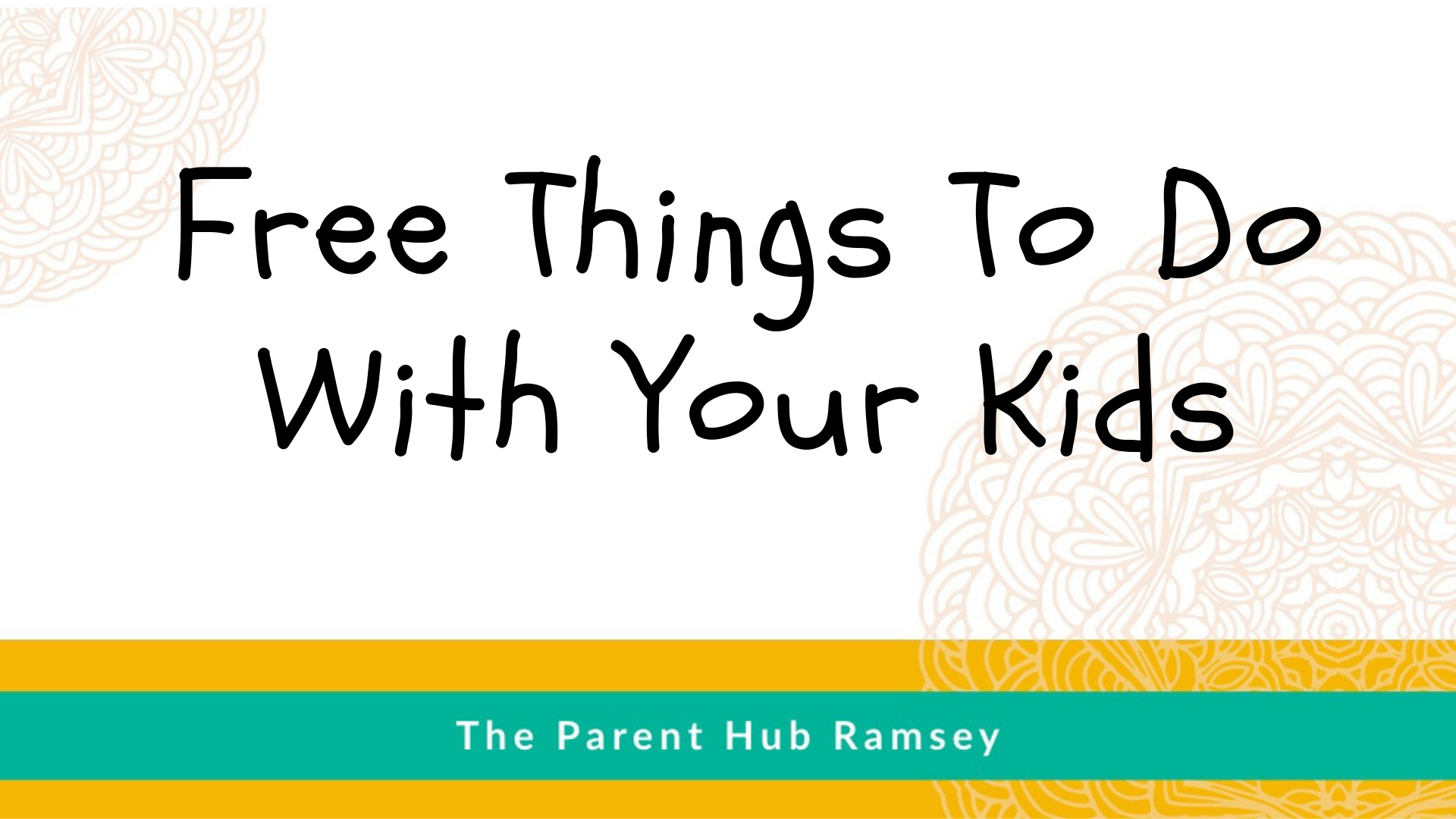 Free Things To Do With Your Kids