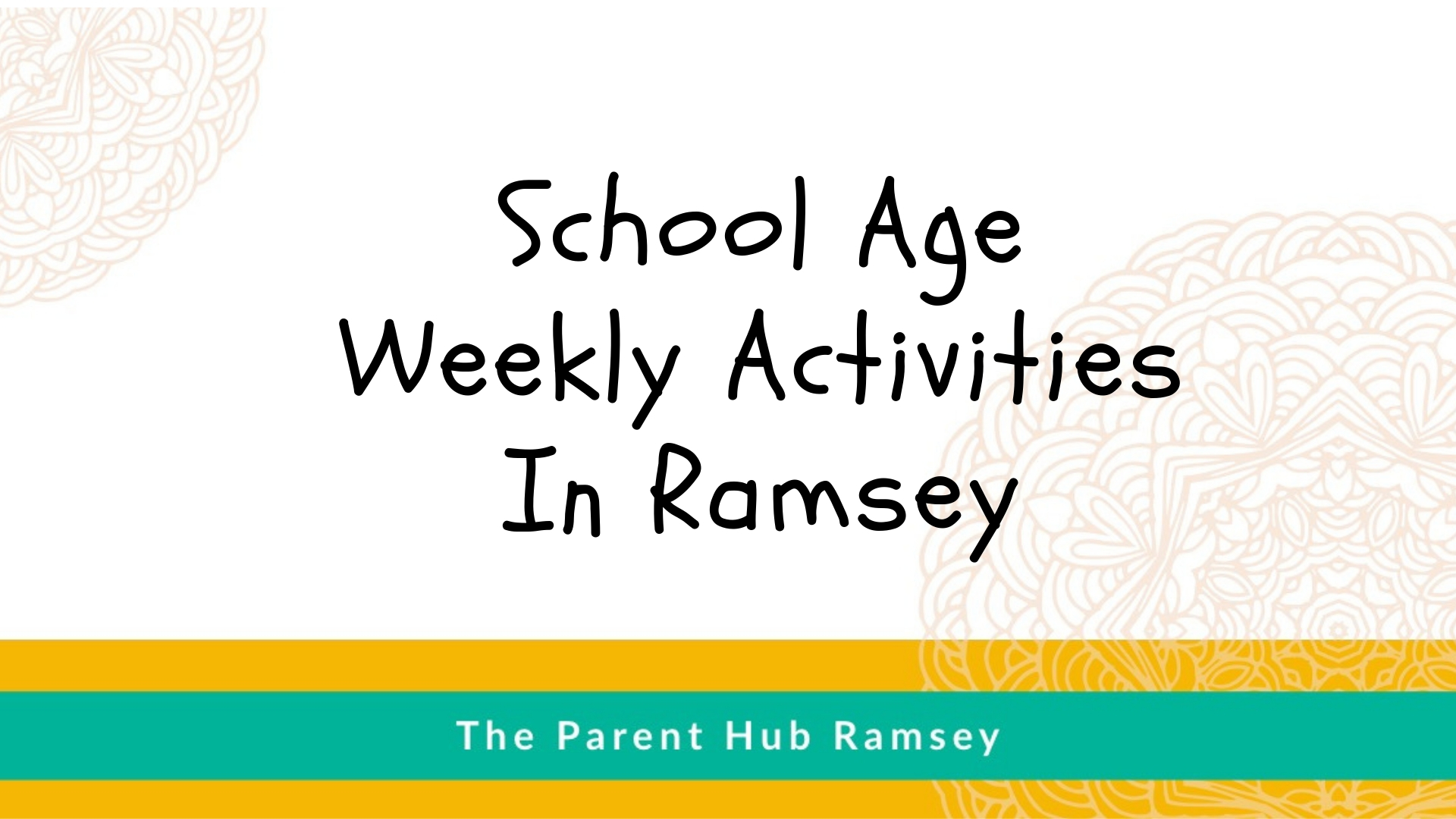 School Age Activities in Ramsey