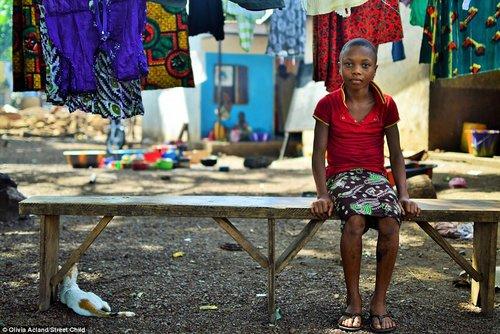 Street Child of Liberia