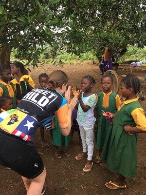Cykeludfordring i Sierra Leone