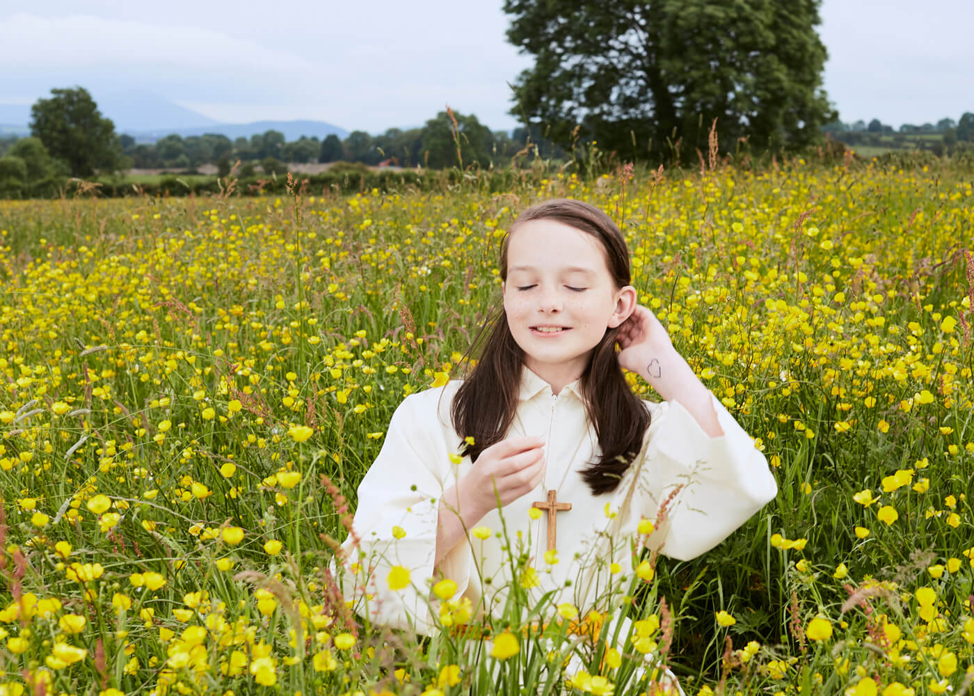 Katie, Wicklow Mountains.  Eleven-year-old Katie is an altar server, traditionally a route to the priesthood for boys. The Vatican said in 2010 it regards the full and equal participation of women in the church 'a grave sin'.