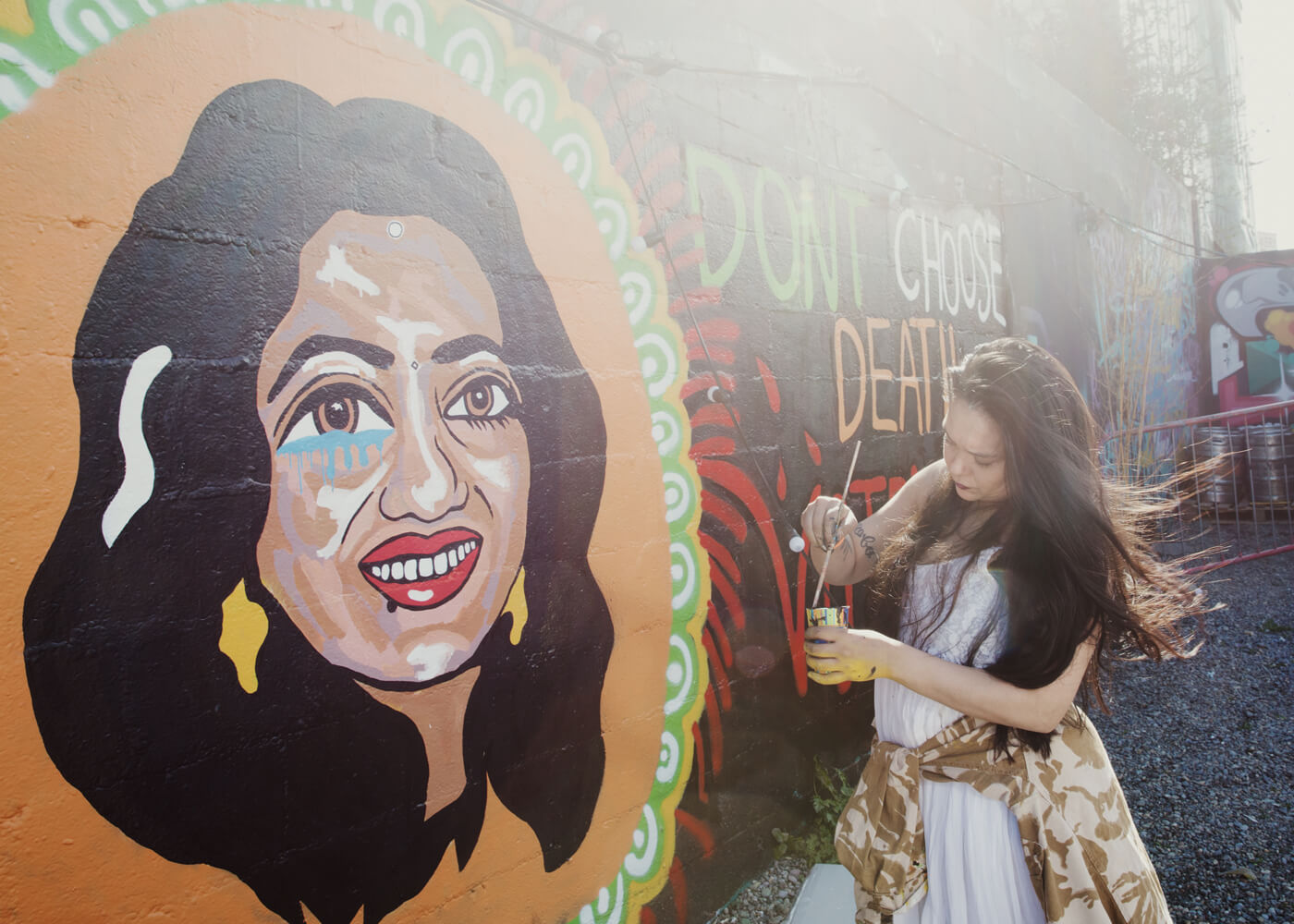 Savita Halappanavar, Dublin.  Savita Halappanavar's image became iconic. She died after doctors refused her an abortion in 2012. She contracted sepsis after miscarrying her daughter. Her death shocked Ireland and brought new awareness and energy to the campaign to repeal anti abortion laws.