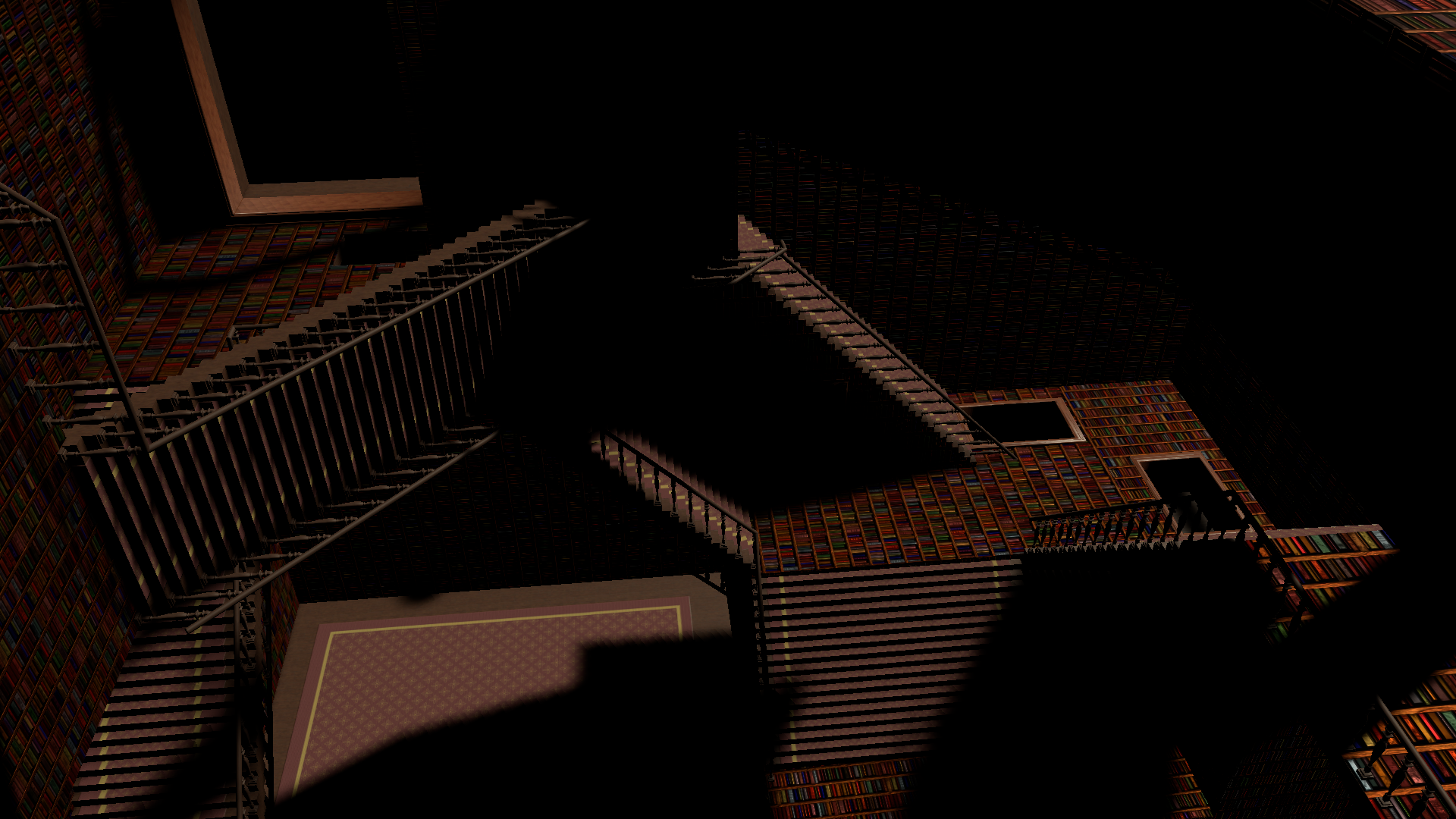 A quick look from the proof of concept fly-through of the Escher Library.