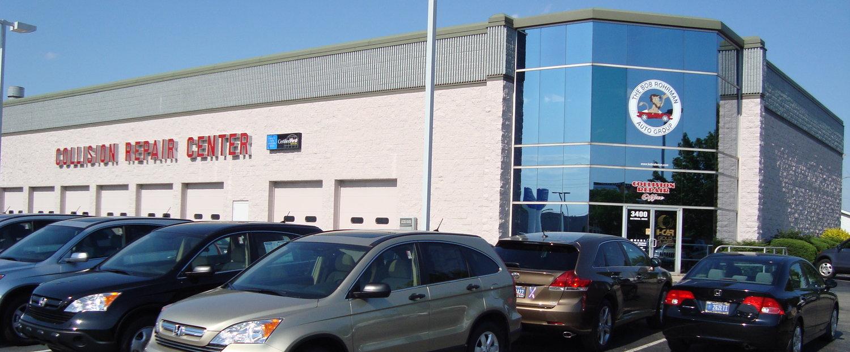 Collision Repair Center >> About Us Bob Rohrman Collision Repair