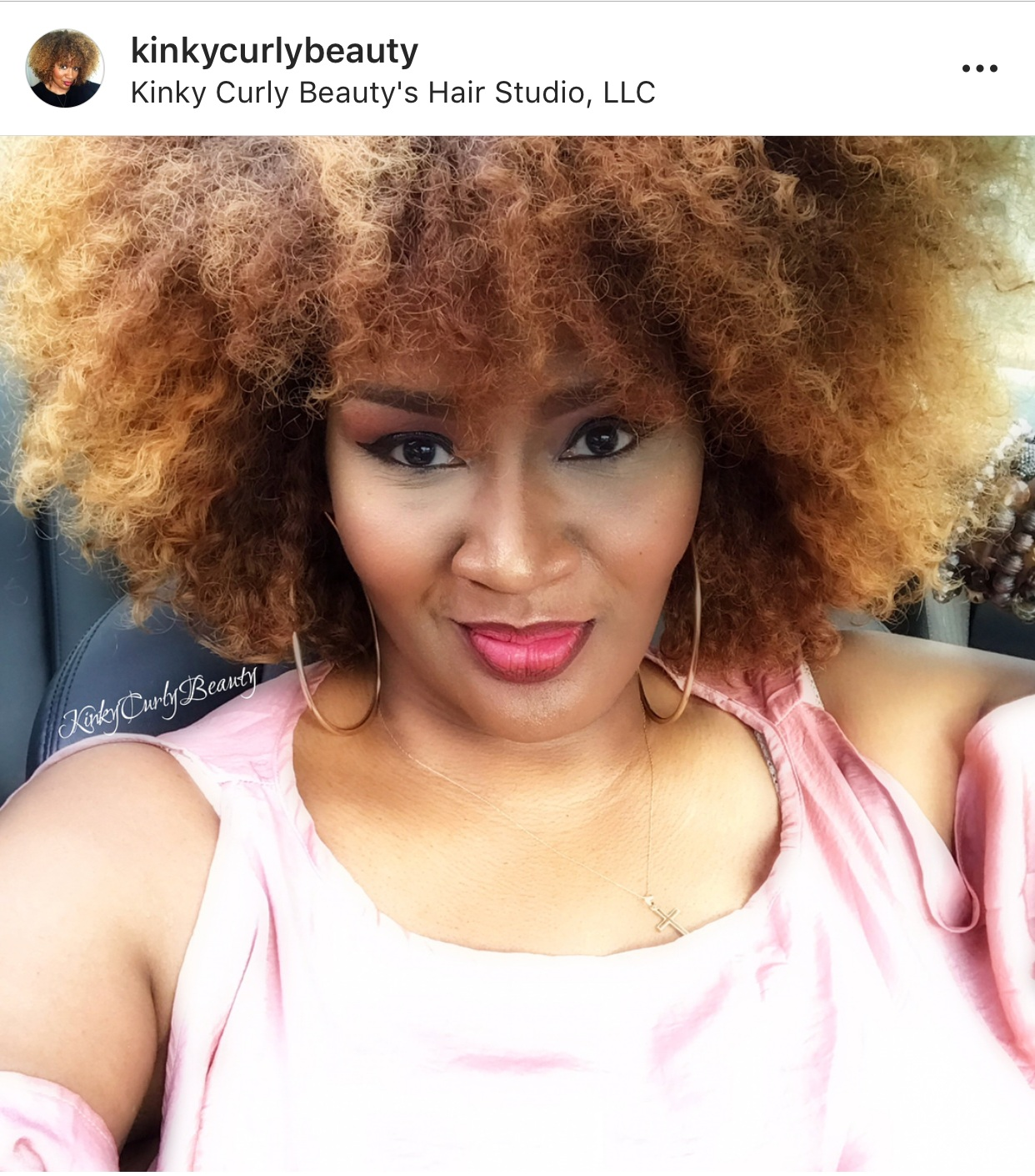 - It was such an honor to be in the room with such powerhouses!- @KINKYCURLYBEAUTY