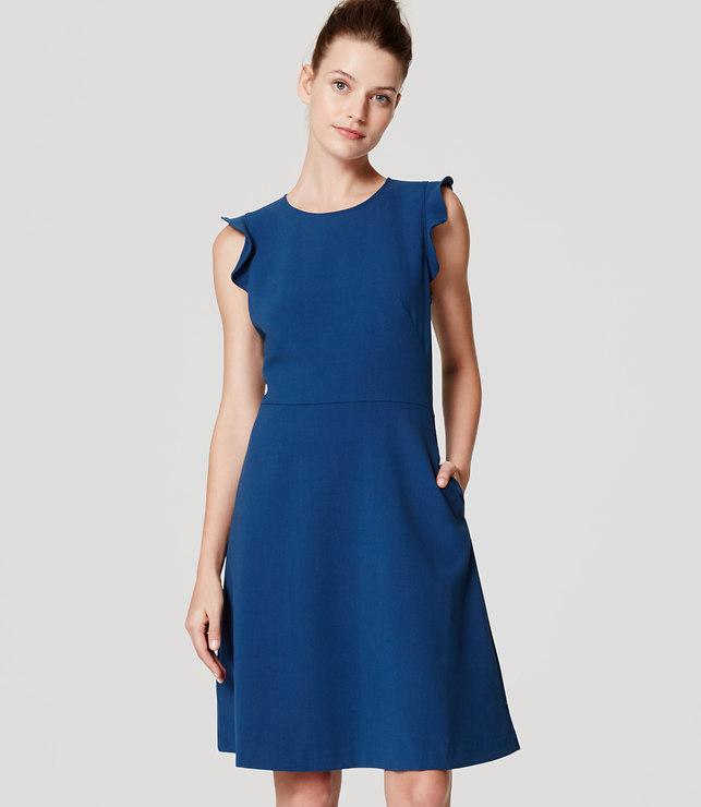 LOFT Flutter Flare Dress 1.jpg