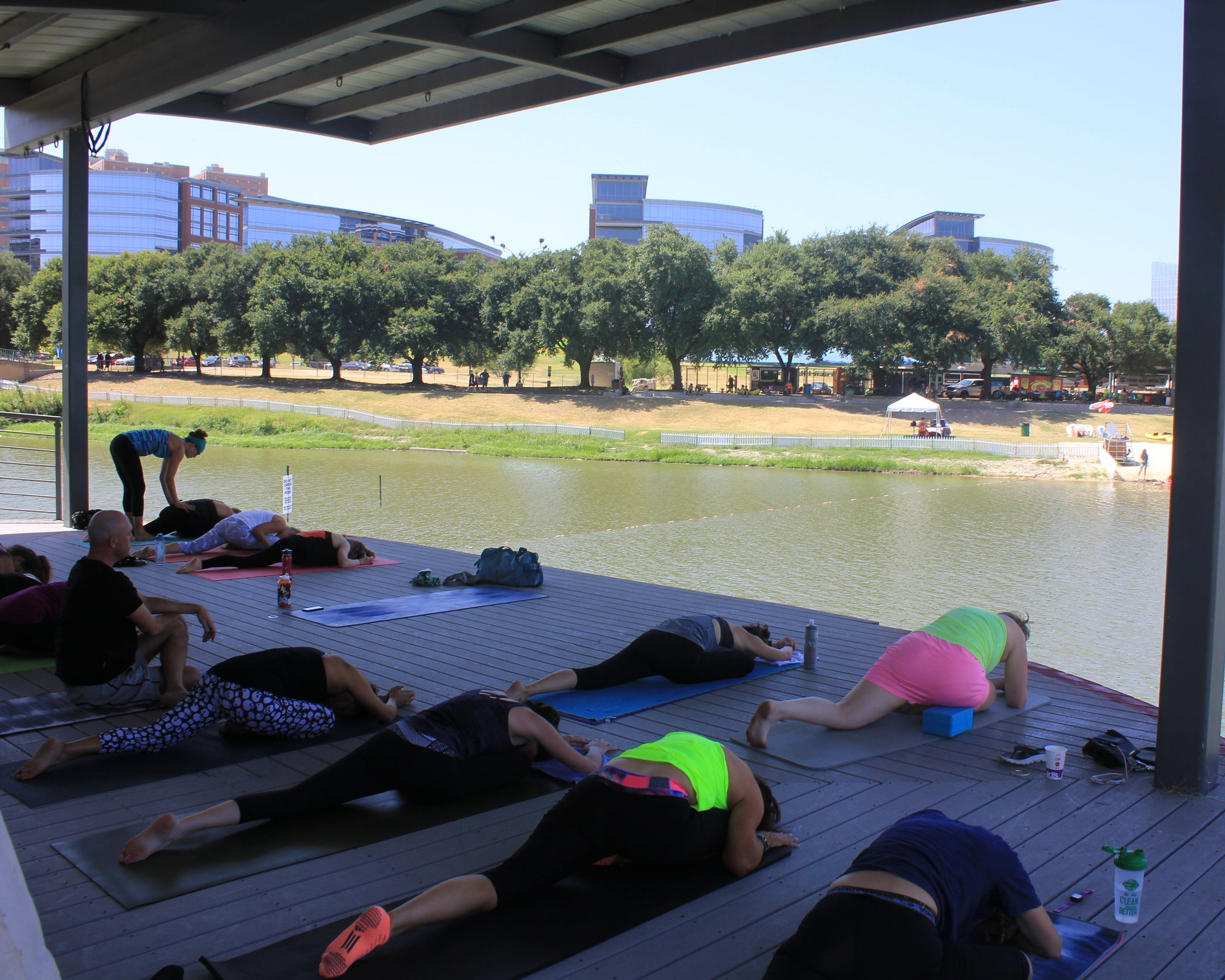 Zenday Fundays - Stand Up Paddleboard Yoga by Just Be Well YogaWeekly from 9:30-11:00am EXCEPT JUNE 30$40/Week. Limited Space.To attend, preregistration required. Please note: A minimum of 3 people required for the class.Waterfront Yoga by Blue Morpho YogaWeekly from 11:00am - 12:00pmFree Class. All tips will go to Teresita Mutis, a local yoga instructor, who lost her Daughter Ashton to breast cancer.Registration NOT required.