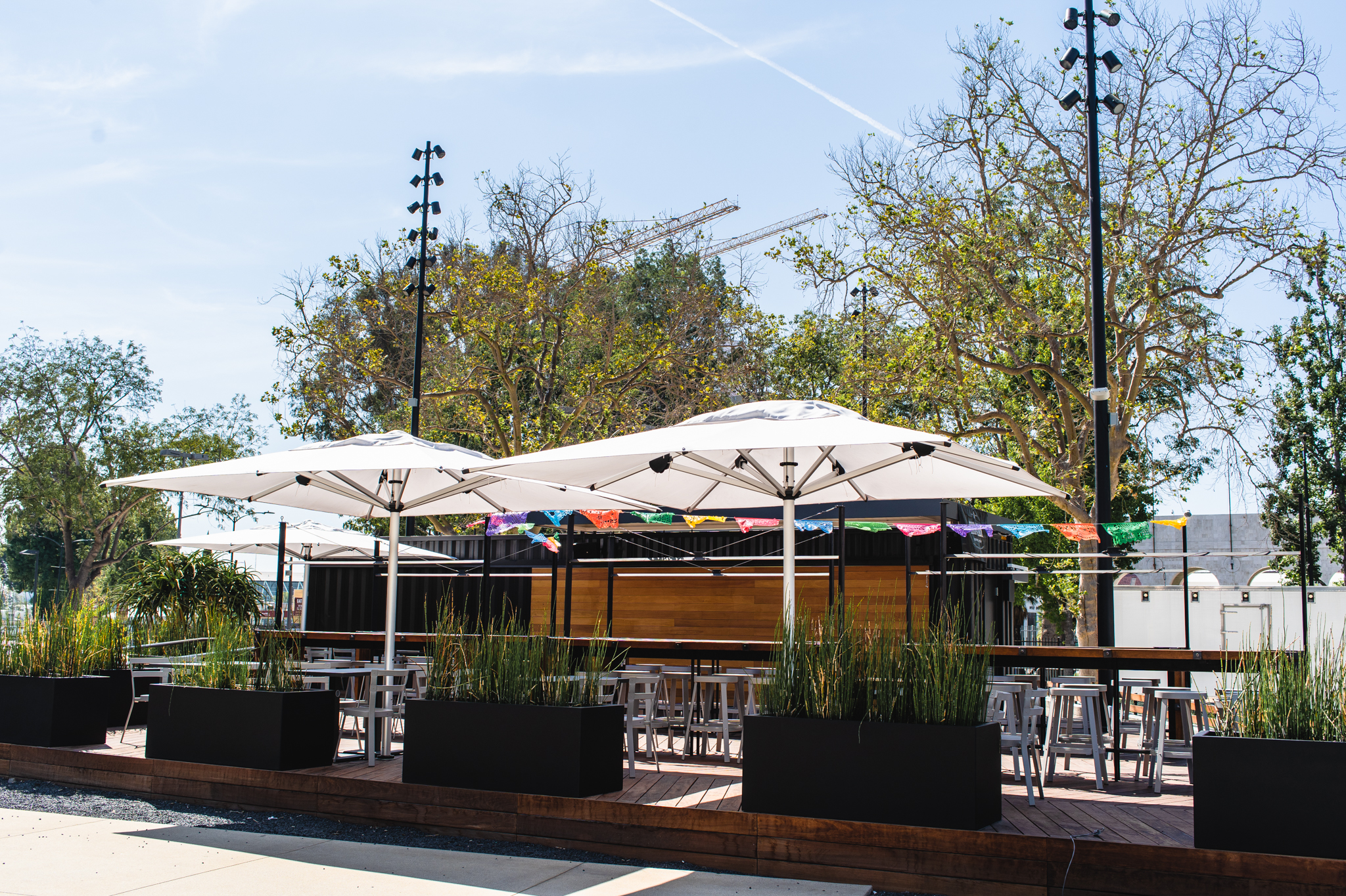 Beer Garden - Enjoy an ice cold craft beer or some soft serve ice cream while enjoying the beautiful atmosphere at the Expo Park campus. On game days, this patio becomes the place to be! Bring a group of friends or coworkers and create your own party at our outdoor patio.