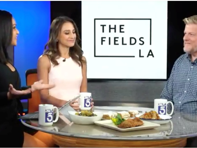 The Fields L.A. Executive Chef Michael Teich and Ms Chi Chef Shirley Chung on The Fields L.A. - KTLA 5
