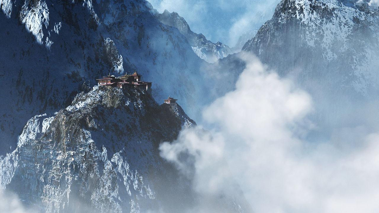 Mountain_Monastery_by_aksu