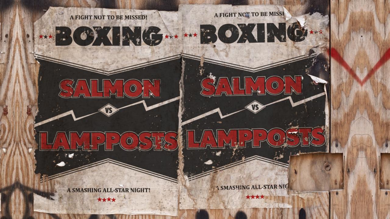 SalmonVsLampposts