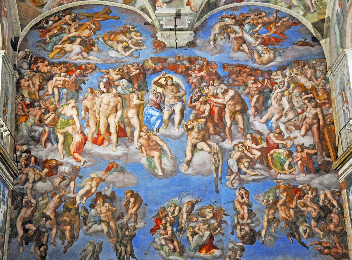 1 - The_Last_Judgment_Michelangelo