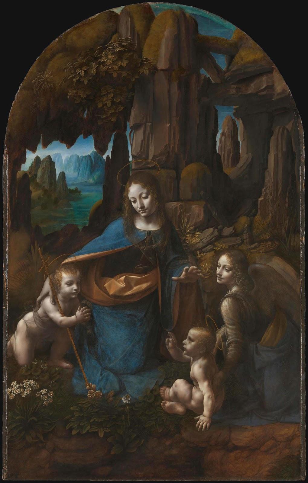 15 - Da Vinci - Virgin of the Rocks