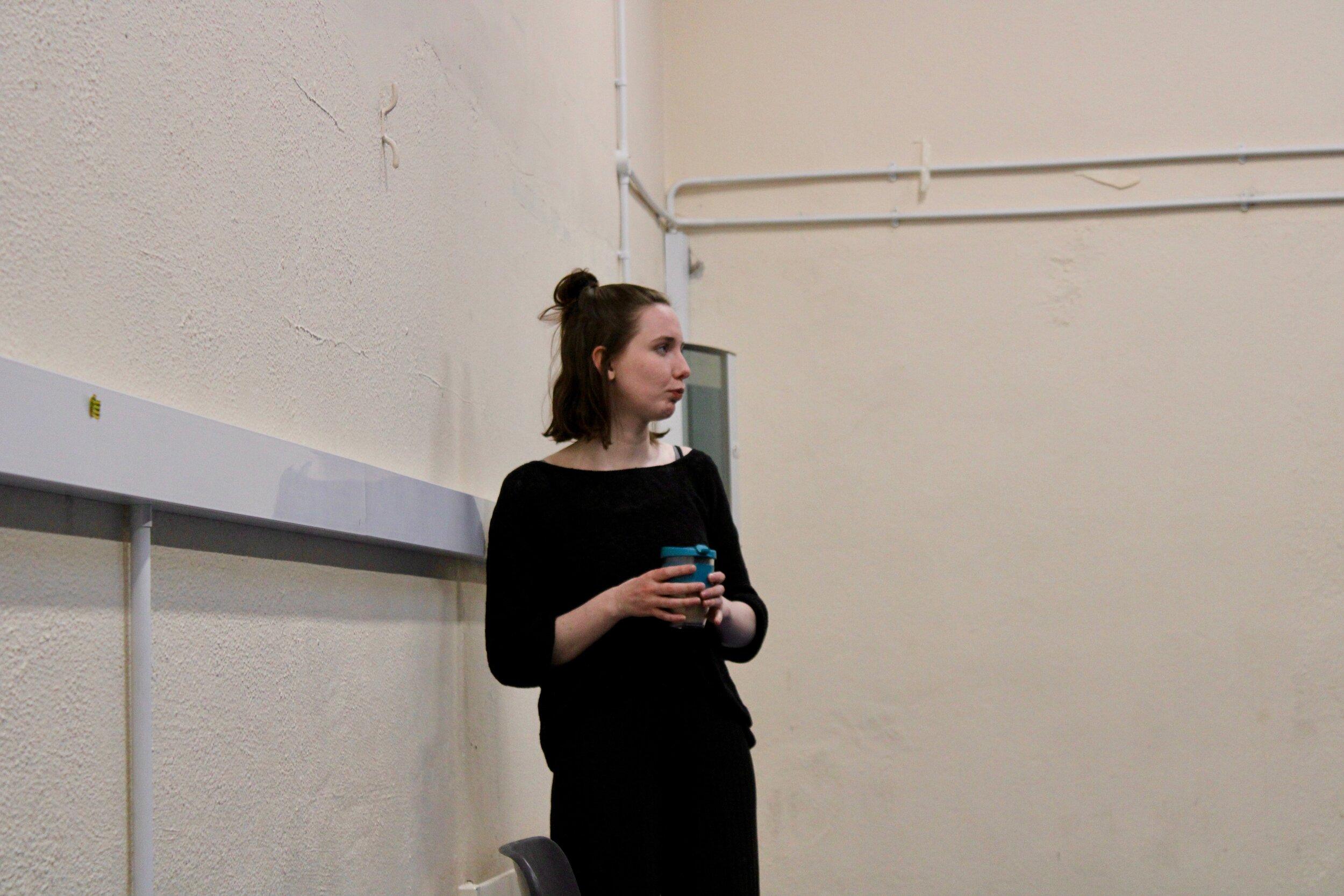Martha Breen (Rehearsals, 2019)