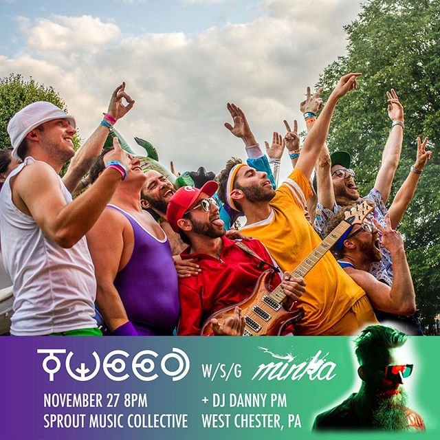 Let's get that gravy! 🍗 @tweedmusic announces thanksgiving eve show with @weareminka at @sproutmusic