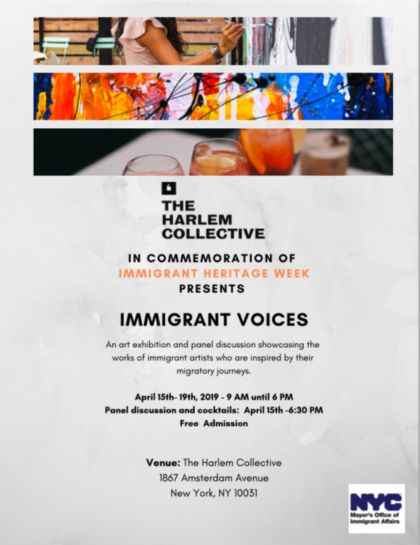 Immigrant Heritage Week Poster