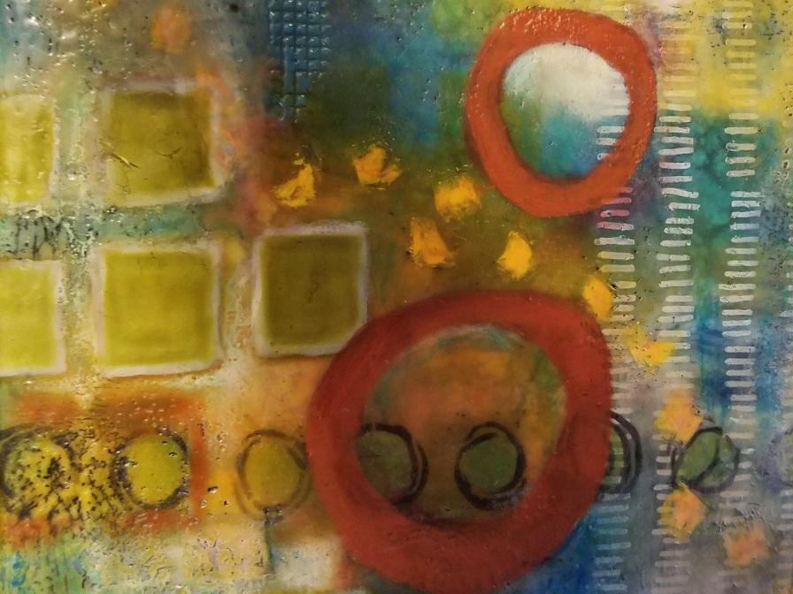 Jan Fox - Encaustic paintings