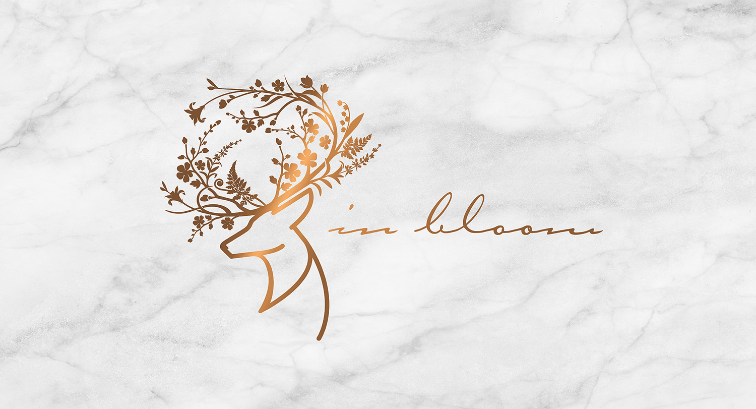 In Bloom   Brand Identity & Website Design