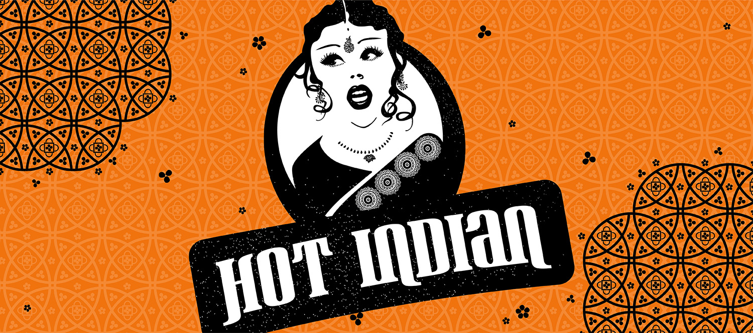 Hot Indian   Brand Identity & Retail Collateral