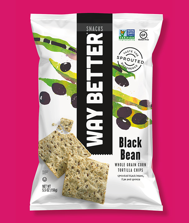 Way Better Snacks  Package Redesign