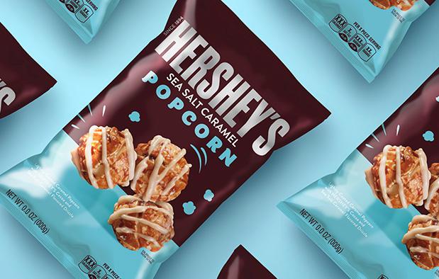 Hershey's Popcorn  Package Design