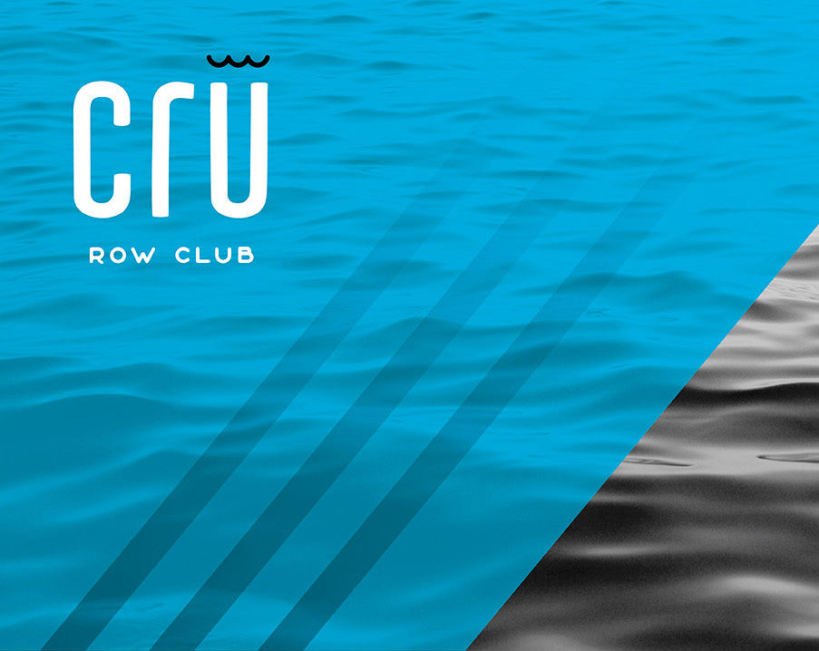 Cru Row Club  Branding & Collateral