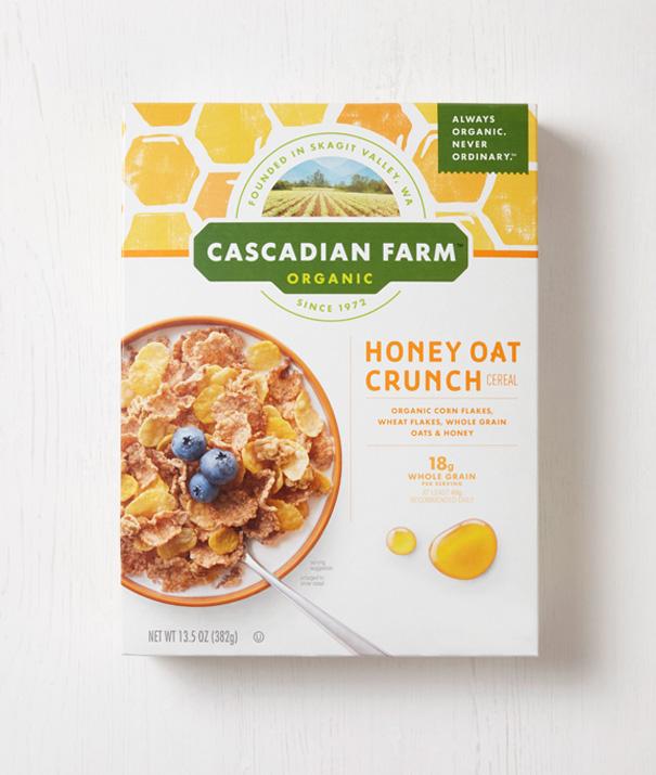Cascadian Farm  Brand Identity & Packaging