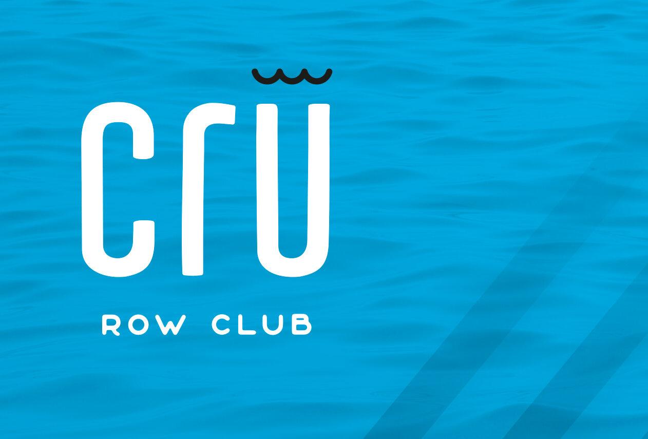 Cru Row Club  Branding & Collateral