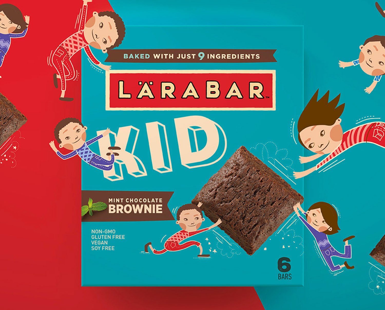 Lärabar Kid  Package Design