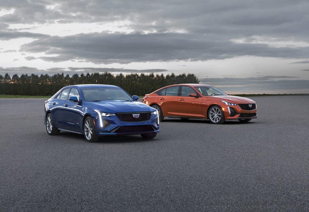 Cadillac Unveils CT5 and CT4 'V-Sport' Models - Tries to Call Them V-Series